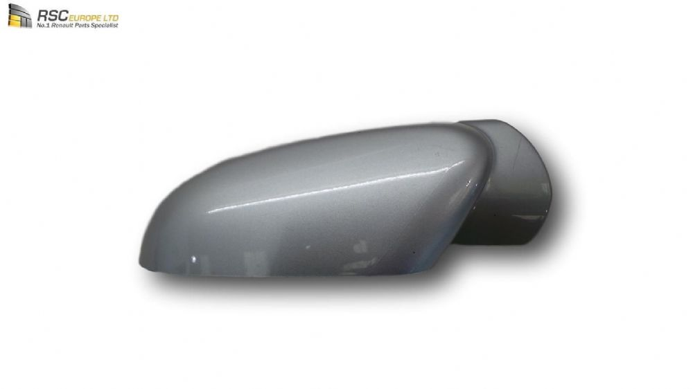 Renault Clio III Left Mirror Cover Cap In Metallic Silver LEFT 7701071875 Shell
